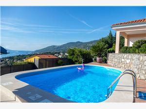 Soukromé ubytování s bazénem Riviéra Opatija,Rezervuj Adore Od 5278 kč