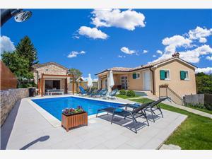Villa Mathilda Milotski Brijeg, Pazin, Kvadratura 160,00 m2, Namestitev z bazenom