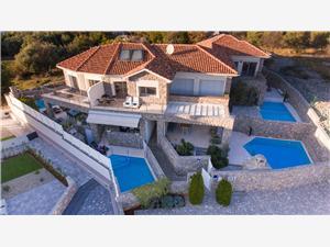 Vila Calma 1 Krk - otok Krk, Kamena kuća, Kvadratura 71,00 m2, Smještaj s bazenom