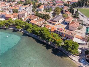 Appartementen Stanislava Fazana, Kwadratuur 60,00 m2, Lucht afstand tot de zee 50 m