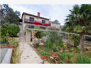 Apartmány Dragica Dramalj (Crikvenica), Rozloha 40,00 m2, Vzdušná vzdialenosť od mora 100 m