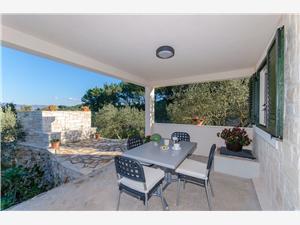 Hiša Vid Južnodalmatinski otoki, Kamniti hiši, Hiša na samem, Kvadratura 22,00 m2