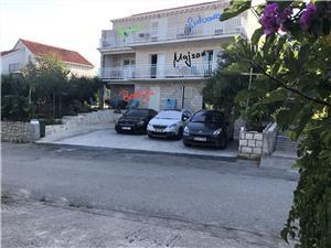 Lägenheter Badija Korcula - ön Korcula, Storlek 90,00 m2, Luftavstånd till havet 60 m