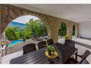 Vakantie huizen De Crikvenica Riviera en Rijeka,Reserveren DINO Vanaf 150 €
