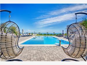Appartementen Bašić Vesna Vir - eiland Vir, Kwadratuur 45,00 m2, Accommodatie met zwembad, Lucht afstand tot de zee 10 m
