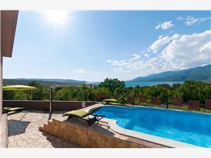 Haus VALEK-with pool and panoramic seaview Rovanjska, Größe 200,00 m2, Privatunterkunft mit Pool, Entfernung vom Ortszentrum (Luftlinie) 750 m