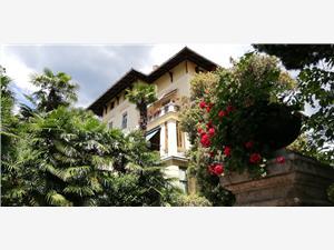 Апартамент The routes of Habsburg Opatija, квадратура 70,00 m2, Воздуха удалённость от моря 80 m, Воздух расстояние до центра города 800 m