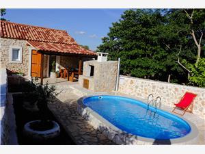 Kuća za odmor Escape Debeljak, Kvadratura 45,00 m2, Smještaj s bazenom