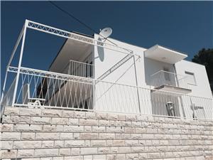 Appartementen Leptirić Podstrana, Kwadratuur 63,00 m2, Accommodatie met zwembad, Lucht afstand tot de zee 250 m