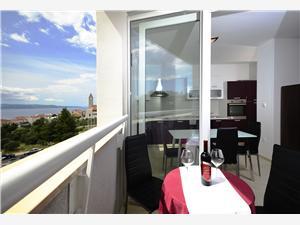 Appartement Makarska Riviera,Reserveren West Vanaf 142 €