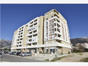Appartement Branko Coast of Montenegro, Kwadratuur 73,00 m2, Lucht afstand naar het centrum 700 m