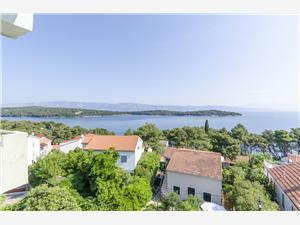 Apartmanok Marija Jelsa - Hvar sziget, Méret 40,00 m2, Légvonalbeli távolság 100 m