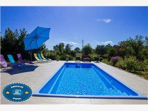 Apartman Napoleon Zelena Istra, Kvadratura 90,00 m2, Smještaj s bazenom
