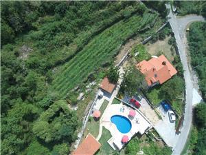 Zimmer Vojka Montenegro, Größe 15,00 m2, Privatunterkunft mit Pool