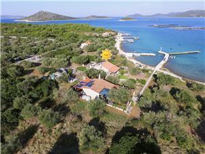 Ház Marin Zizanj - Zizanj sziget, Robinson házak, Méret 45,00 m2, Légvonalbeli távolság 10 m