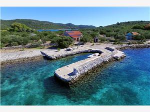 Dom na samote Ostrovy Severnej Dalmácie,Rezervujte Burin Od 149 €