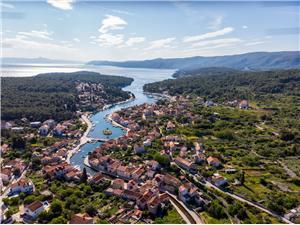 Apartmán Sea princess Vrboska - ostrov Hvar, Rozloha 30,00 m2, Vzdušná vzdialenosť od centra miesta 500 m