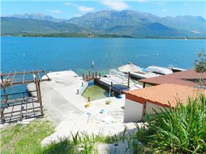 Beachfront accommodation Boka Kotorska,Book PS From 97 €