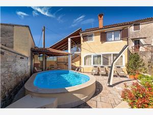 Accommodatie met zwembad Blauw Istrië,Reserveren Milena Vanaf 140 €