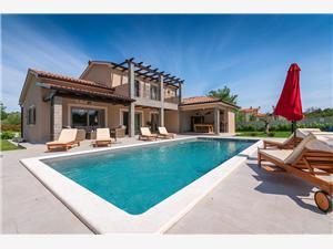 Villa Mercedes Zartinj, Méret 135,00 m2, Szállás medencével