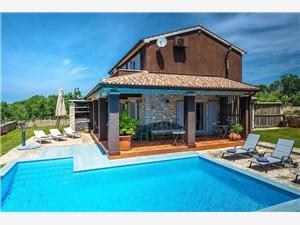 Villa Simone Gradina Istra, Kvadratura 120,00 m2, Namestitev z bazenom