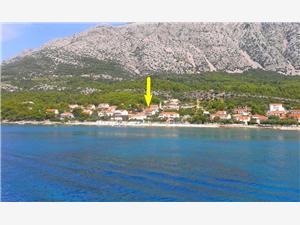 Апартаменты Tamara Orebic, квадратура 100,00 m2, Воздуха удалённость от моря 70 m, Воздух расстояние до центра города 150 m