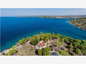 Дом Vesna Milna - ostrov Brac, Дома в уединенных местах, квадратура 50,00 m2, Воздуха удалённость от моря 30 m