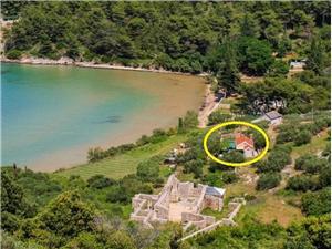 Maison Ivica Postira - île de Brac, Maison de pierres, Maison isolée, Superficie 20,00 m2