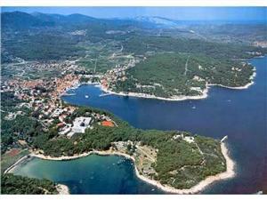 Апартаменты Marga Jelsa - ostrov Hvar, квадратура 30,00 m2, Воздуха удалённость от моря 70 m, Воздух расстояние до центра города 200 m