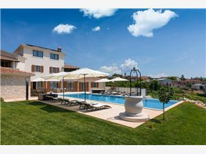 Soukromé ubytování s bazénem Lorenzo Tar (Porec),Rezervuj Soukromé ubytování s bazénem Lorenzo Od 14849 kč