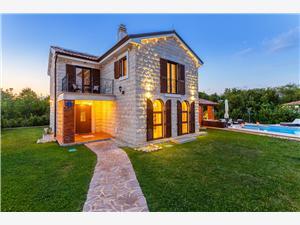 Hus KAMENICA Dobrinj - ön Krk, Storlek 200,00 m2, Privat boende med pool, Luftavståndet till centrum 200 m