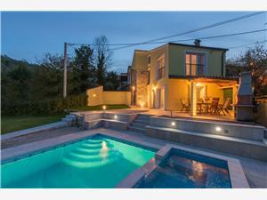 Willa Ana Istria, Domek na odludziu, Powierzchnia 100,00 m2, Kwatery z basenem
