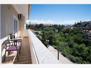 Apartmaj Sanja Vrbnik - otok Krk, Kvadratura 75,00 m2, Oddaljenost od centra 250 m