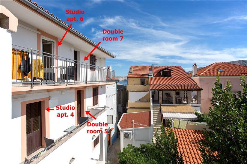Apartman A4, za 2 osoba/e