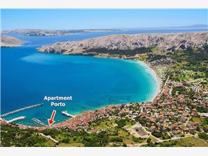 Boende vid strandkanten Porto Baska - ön Krk,Boka Boende vid strandkanten Porto Från 576 SEK