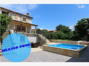 вилла Villa Klimno Klimno - ostrov Krk, квадратура 90,00 m2, размещение с бассейном, Воздуха удалённость от моря 50 m