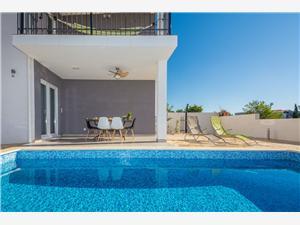 Villa Eva Vir - eiland Vir, Kwadratuur 70,00 m2, Accommodatie met zwembad