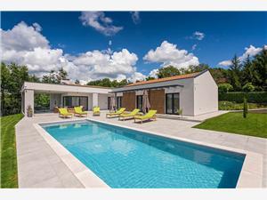 Villa Lara Gracisce Zelená Istrie, Prostor 180,00 m2, Soukromé ubytování s bazénem