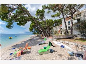 Beachfront accommodation Makarska riviera,Book Duba From 171 €