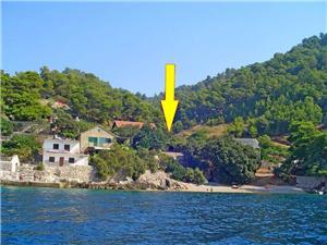 Апартаменты Edi Gdinj - ostrov Hvar, Дома в уединенных местах, квадратура 42,00 m2, Воздуха удалённость от моря 15 m