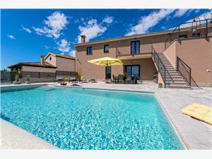 Villa Sunnyside Isztria, Méret 170,00 m2, Szállás medencével