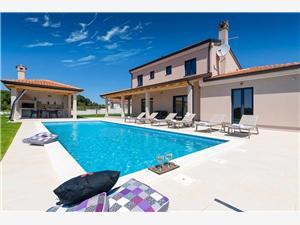 Villa Joze Zelená Istrie, Prostor 170,00 m2, Soukromé ubytování s bazénem