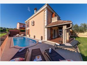 Casa Vivo Kastelir, Kvadratura 155,00 m2, Namestitev z bazenom