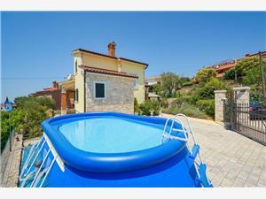 House Radmila Kastelir, Prostor 120,00 m2, Soukromé ubytování s bazénem