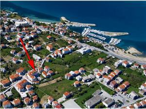Appartementen Mili Podstrana,Reserveren Appartementen Mili Vanaf 50 €