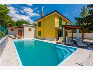 Dům CASA PIETRA 2 Jadranovo (Crikvenica), Prostor 71,00 m2, Soukromé ubytování s bazénem, Vzdušní vzdálenost od centra místa 600 m