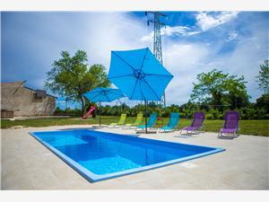 Apartmán Napoleon Zelená Istrie, Prostor 90,00 m2, Soukromé ubytování s bazénem