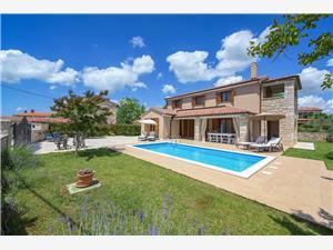 Villa Neo Istra, Kvadratura 150,00 m2, Namestitev z bazenom