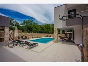 Vila Adry Bribir, Kvadratura 157,00 m2, Smještaj s bazenom