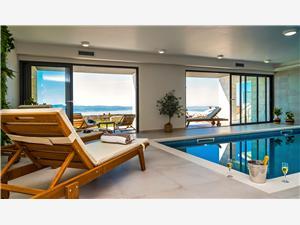 Willa The View Omis, Powierzchnia 255,00 m2, Kwatery z basenem